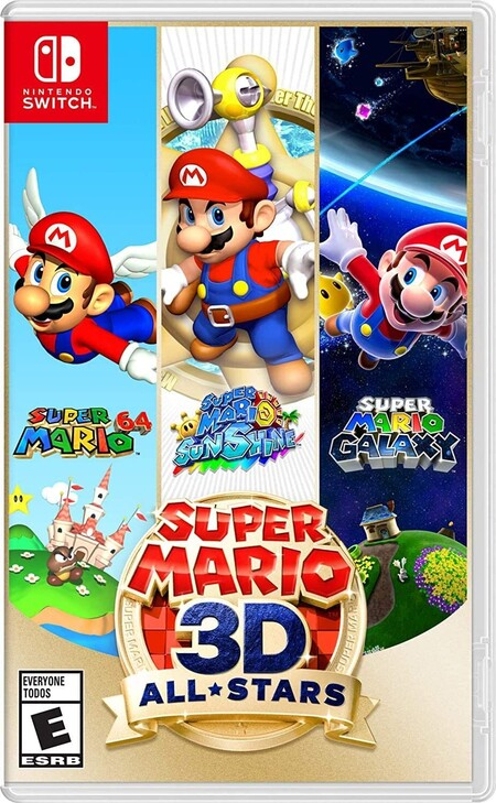 Super Mario 3D All-Stars de oferta con Amazon México en el Buen Fin 2020