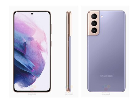 Samsung Galaxy S21 Plus Renders Filtrados Violeta