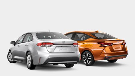 Nissan Versa Vs Toyota Corolla 2