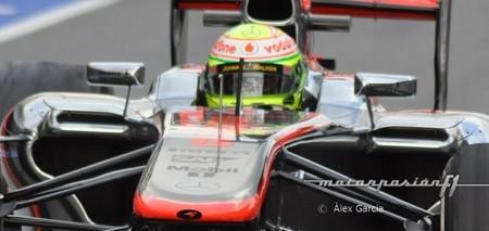 """Sergio Pérez: """"los neumáticos son muy difíciles y con solo una vuelta se gastan"""""""