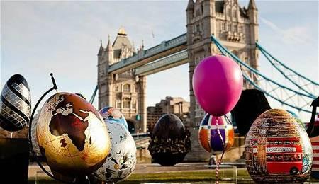 The Fabergé  Big Egg Hunt... a la caza de los huevos de diseño