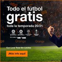 Orange Love Total con todo el fútbol será más barato: desde 69,95 euros durante toda la temporada