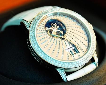 Reloj Blancpain del Ultimate 50 pack, hotel Conrad Tokio