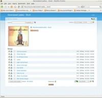 Zina, jukebox por web