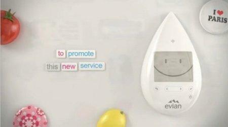 Evian Smart Drop, un claro ejemplo de la Internet de las cosas aplicada al comercio