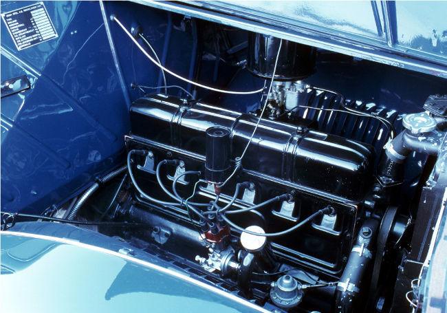 Motor 3.6 litros del Opel Admiral