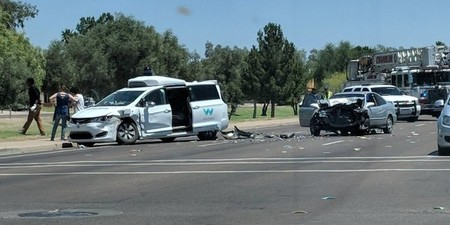 Accidente coche autónomo Waymo