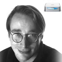 Linus Torvalds se compra un Mac Mini