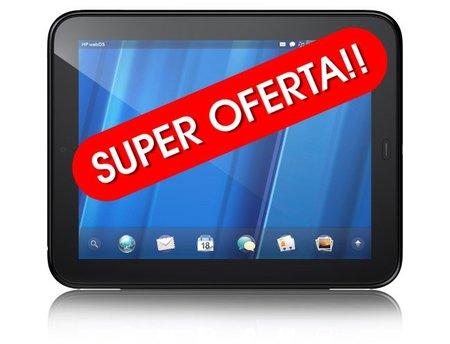 La HP Touchpad a precio de liquidación en 99 y 149 dólares