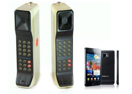 ¿Cuánto costaría hoy un móvil de los 80?