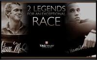 Steve McQueen y Lewis Hamilton, un enfrentamiento de película