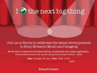Sony Ericsson prepara sorpresas para el 14 de junio