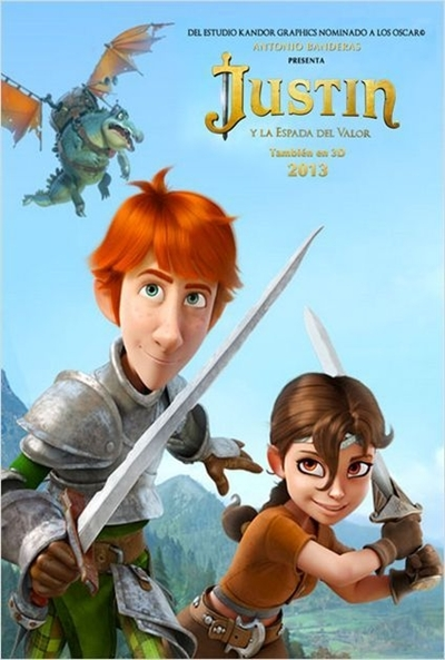 Carteles de 'Justin y la espada del valor'