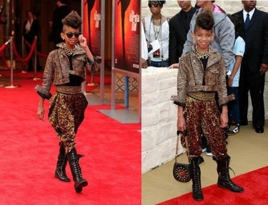 Willow Smith se une a la moda pájaro loco