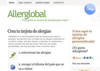 Allerglobal: tarjeta de alergias para tus viajes