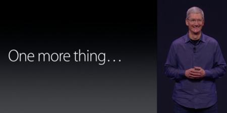 One more thing...  Salud en iOS 8, reservas del iPhone 6 y ventas de accesorios