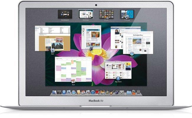 Mission Control de Mac OS 10.7 Lion