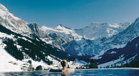 The Cambrian Hotel Adelboden Spa Suiza Las Mejores Piscinas Infinitas Del Mundo