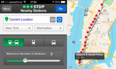 Apple compra otra empresa en menos de 24 horas, HopStop, con información del transporte público de más de 750 ciudades
