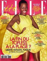 Lupita Nyong'o para la revista Elle