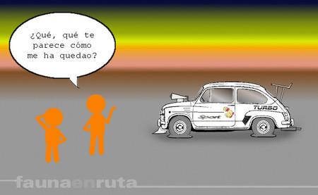 fauna en ruta - neumáticos