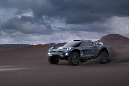 El CUPRA Tavascan Extreme E Concept será la versión de carreras del SUV eléctrico de la marca que llegará en 2024