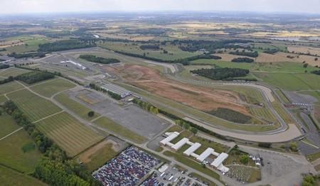 Circuito Donington Park, Reino Unido, imagen aérea