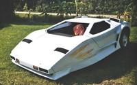 EVette: Lamborghini Countach eléctrico biplaza con tres ruedas hecho en casa y con nombre americano