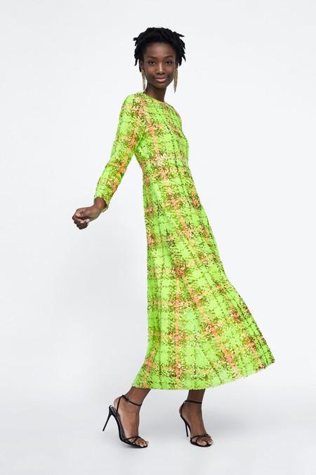 Zara Vestidos Lentejuelas 15
