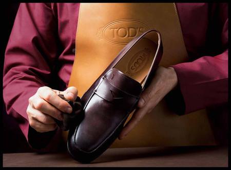 Las técnicas de pulido de zapatos de JP Tod's Sartorial