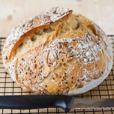 Receta de pan casero sin amasado, más sencillo es imposible