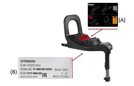 Chicco retira la base isofix de su modelo de silla Kiros i-size por posibles fallos de seguridad
