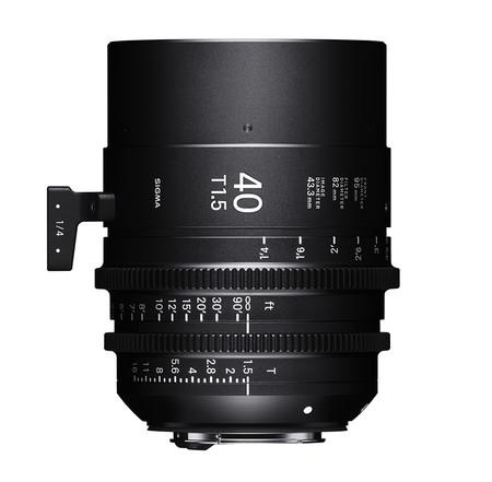 Sigma Cine Lens Ff 40mm