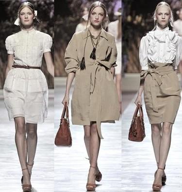Blugirl en la Semana de la Moda de Milán primavera-verano 2009