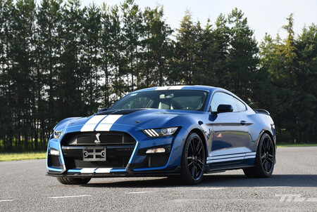 Ford Mustang Shelby GT500 2020 - prueba