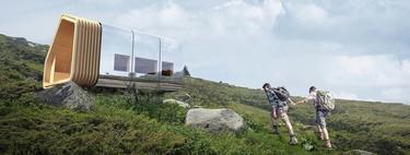 El refugio de montaña del futuro ya está diseñado y es modular, ecológico y se puede transportar en helicóptero