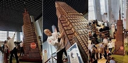 El rascacielos de chocolate más grande del mundo