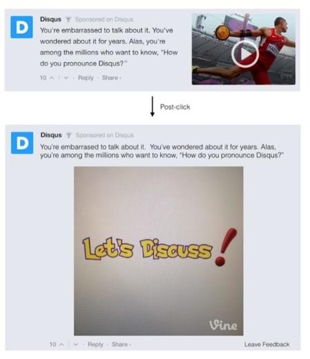 Anuncios en todas partes: si usas Disqus, también en tu sección de comentarios
