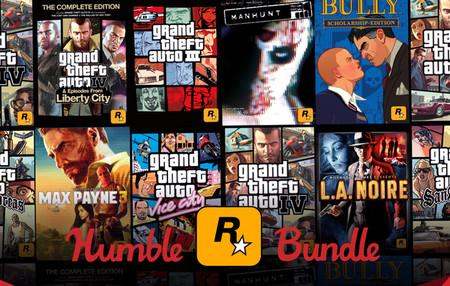El nuevo Humble Bundle reúne 12 juegazos clásicos de Rockstar por 12 euros