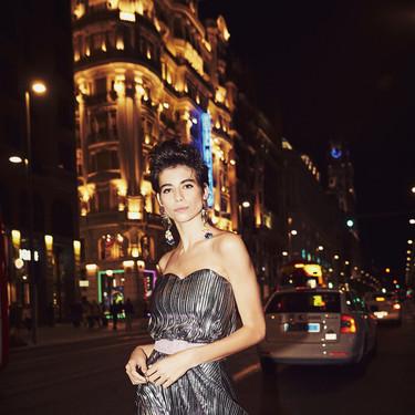 Dolores Promesas viene dispuesta a brillar con sus looks de fiesta de la nueva colección Otoño-Invierno 2019
