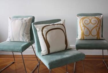 Cojines para renovar el respaldo de las sillas