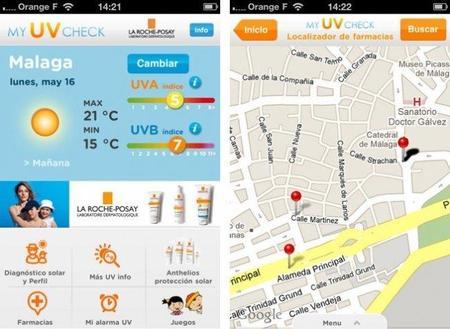 My UV Check: aplicación para disfrutar del verano y del sol de manera sana