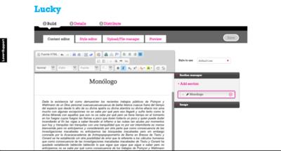 Vook, un servicio web para crear tus propios eBooks
