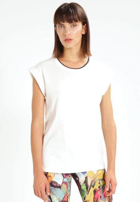Camiseta de manga corta Adidas Originals Boyfriend Roll Up con 60% de descuento en Zalando: se queda en 13,95 euros