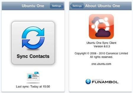 Ubuntu One sincronizará sus contactos con los teléfonos móviles
