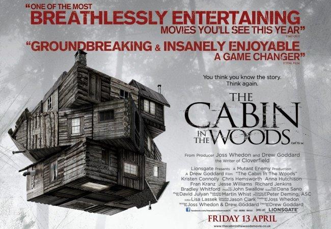 Imagen promocional de Una Cabaña en el Bosque (The Cabin in the Woods)