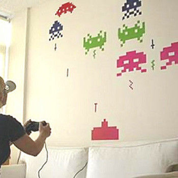 Space Invaders invaden tu habitación