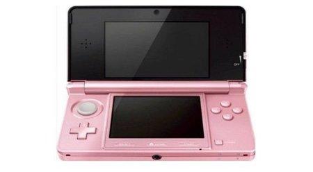 Nintendo 3DS ahora en color Rosa