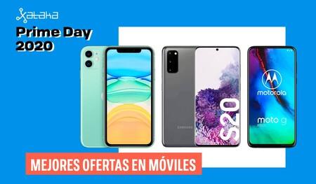 Los mejores móviles en oferta por el Amazon Prime Day 2020