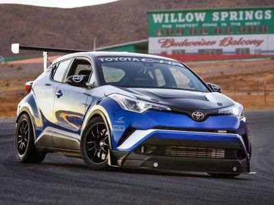 Toyota C-HR R-Tuned, un pequeño SUV de 600 CV más rápido que el Porsche 911 GT3 RS